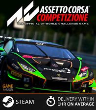 Assetto Corsa Competizione   PC, Steam, Region Free, Global   Fast Delivery
