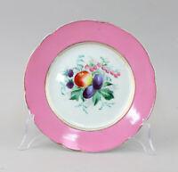 99840677 Porcellana Obst-Schale Piatto Obst-Motiv Pere Biedermeier Dipinti