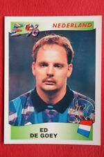 Panini EURO 96 N. 94 DE GOEY NEDERLAND New With BLACK back TOPMINT!!