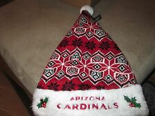 Arizona Cardinals Knit Santa Hat New - NFL