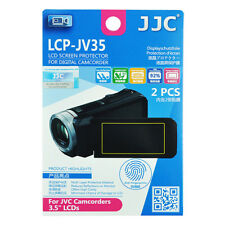 2x Film LCD Screen Display H3 Hard Protection for JVC Camcorder 3.5'' inches