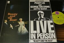 PEGGY LEE AND GEORGE SHEARING Live In Person / Dutch LP CAPITOL 5C056-81465