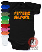8bea77e5770 Player 3 Has Entered The Game Baby Grow Body Suit Vest Funny Geeky ...
