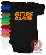 Naughtees Clothing Futuro GAMER Lindo Gaming Body vestido bebé XBOX