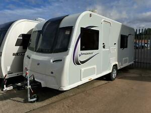 New 2022 Bailey Phoenix Plus 440 - 4 Berth Fixed Double Bed **DUE IN SOON**