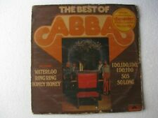 The Best of Abba World LP Record India-1826