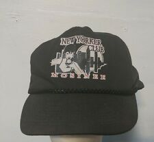 Vintage 80's wisconsin new yorker Club Mosinee Snap Back cap Hipster Rare cool A