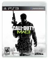 Call of Duty: Modern Warfare 3 MW3 - 2011 Activision - Sony PlayStation 3 PS3