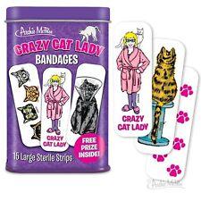 CRAZY CAT LADY BANDAGES 15 COUNT