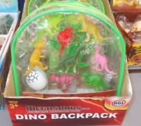 8PC DINOSAUR PLAYSET TOY ANIMALS ACTION FIGURES SET T REX TRICERATOPS JURASSIC