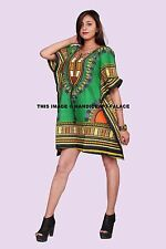 New African Indian Kaftan Women Dashiki Mexican Tribal Caftan Dress Night Gown