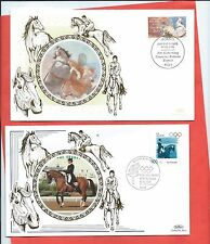 Germany A couple of Benham covers from 1996 - both Horse related (Y854)