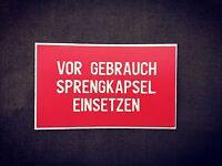WW2 German  Stencil for  Stielhandgranate M24