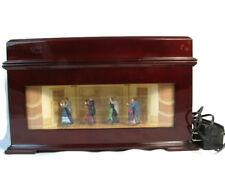 Mr Christmas Musical Box Melodium Animated Ballroom Dancers 10 Songs 22601T