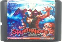 Splatterhouse 2 (1992) 16 Bit Game Card For Sega Genesis / Mega Drive System