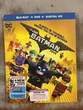 The LEGO Batman Movie (Blu-ray/DVD/Digital HD) NEW w /slipcover