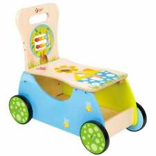 Classic World Wooden Baby/Toddler Rider and Walker