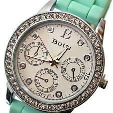 Reloj De Pulsera De Cuarzo mujeres Cristal Analógico Perfecto & Plata analógico de cuarzo reloj de pulsera