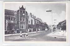 VINTAGE T.V.A.P OXFORD SERIES POSTCARD COUNCIL OFFICES, VICTORIA ROAD, BLETCHLEY