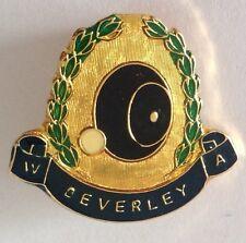 Beverley Bowling Association Club Badge Pin Vintage Lawn Bowls (L19)