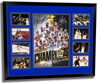 GOLDEN STATE WARRIORS 2018 NBA CHAMPIONS CURRY DURANT LE FRAMED MEMORABILIA