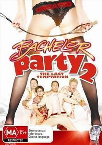 Bachelor Party 2: The Last Temptation (Unrated) (PAL, 2008) VGC, FREE POST