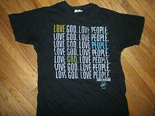 ISRAEL HOUGHTON & NEWBREED LOVE GOD LOVE PEOPLE T SHIRT Christian Concert Tour S
