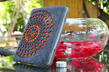 cool laser cut orginal design  new ipad 2, ipad 3  case ipad stand case holder