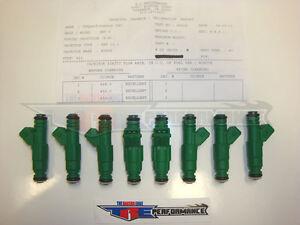 TRE 39lb Fuel Injectors Fit Bosch Chevy Ford Racing LS1 LT1 LSX 5.0L EV1 415cc 8