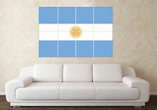 Argentine Drapeau Wall Poster coupe du monde FIFA 2018 Anniversaire Pères Jour Football