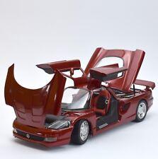 Guiloy 68541 Mercedes Benz c112 Voiture de sport rouge metallic laqués, neuf dans sa boîte, 1:18, k08