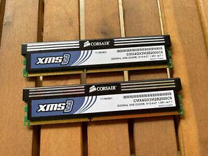 CORSAIR XMS3 4GB KIT 2x2GB DDR3 2000MHZ CMX4GX3M2B2000C9 GAMING Ram
