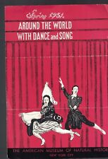 Around the World with Dance and Song Spring  1951 Ad Flyer