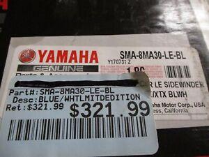 "Yamaha OEM New blue cover SMA-8MA30-LE-BL Sidewinder limited edition 137-141"""