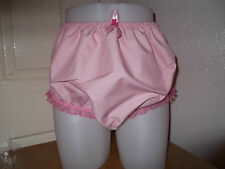 ADULT BABY~SISSY~MAIDS~PVC LINED COTTON & LACE PANTS~NAPPY~DIAPER COVER