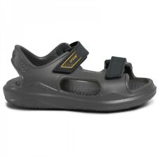 Crocs SWIFTWATER EXPEDITION 206267 Kids Casual Sandals Slate Grey/Charcoal