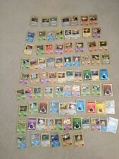 Pokemon 125 Card Lot Gym Challenge Gym Heroes Common Uncommon