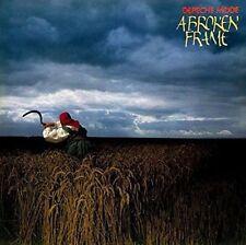 Depeche Mode a Broken Frame LP Vinyl 10 Track 180 Gram Repress Superior Sound