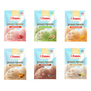 6-in-1 Russian Ice Cream Pack Mix Dry Powder