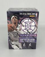 2019-2020 Panini Illusions NBA Basketball Blaster Box JA Zion Luka Lebron Herro