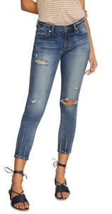 Habitual Marina Dart Hem Skinny Jeans Sabine 25 NWT $198
