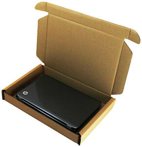 1x LAPTOP SHIPPING MAIL POSTAL STRONG DOUBLE WALL CARDBOARD BOX SCREEN 47x31x6cm