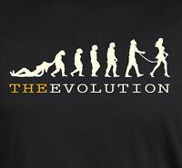 Evolution tshirt evo of Man Funny Humor Feminism t-shirt
