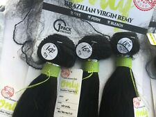 UNPROCESSED 7A BRAZILIAN VIRGIN REMY HUMAN STRAIGHT HAIR EXTENSIONS 3 BUNDLES