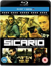 Sicario BLURAY Emily Blunt Josh Brolin Benicio Del Toro 5055761906769