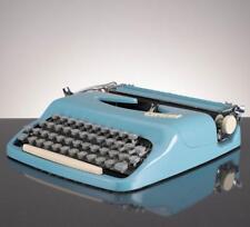 Consul Baby Blue Portable Vintage Typewriter