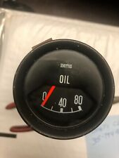 Smiths Oil Pressure Gauge Lotus Elite + Other British Cars Good Condition