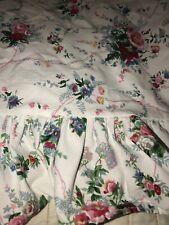 Ralph Lauren Single Standard Floral Cotton Pillow Case Ruffles Edge Flowers Bed
