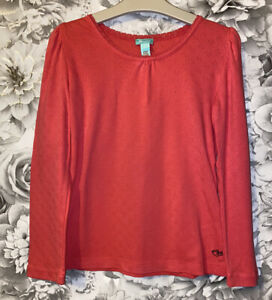 Girls Age 8-10 Years - Long Sleeved Top From Monsoon