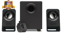 Logitech Computer PC Speakers 2.1 Stereo Sound System with Subwoofer Bass NEW